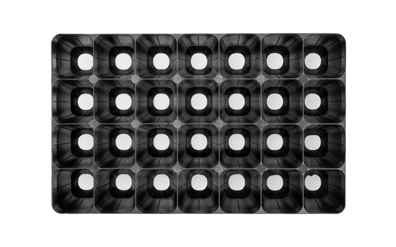 Module tray 28 cell top