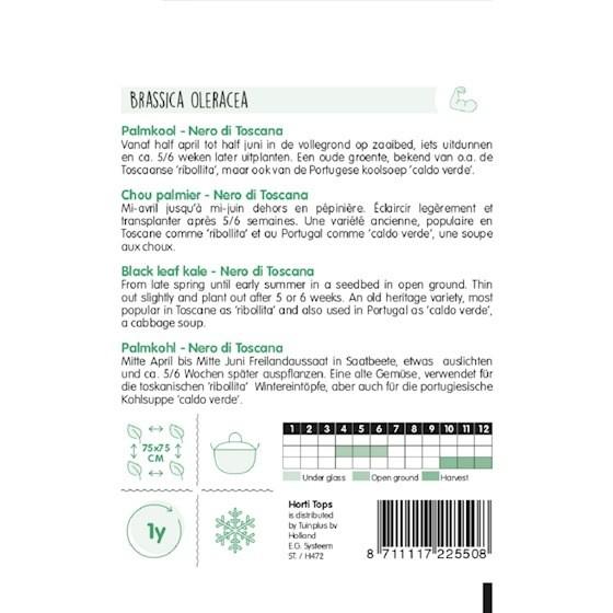 black leaf kale growing instructions