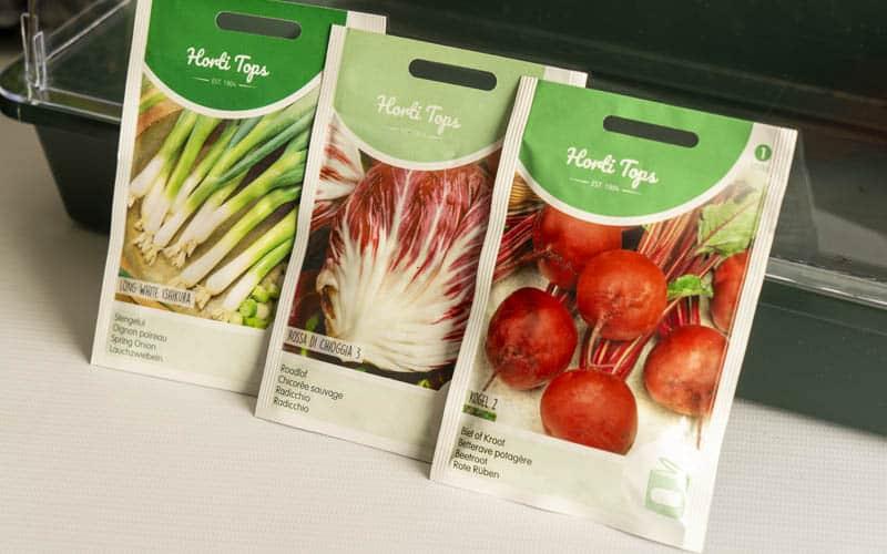 Starter Vegetable Growing Kit Seeds